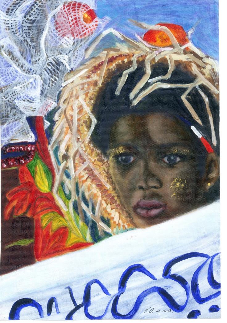 OCallaghan-2013-Carnival-Girl-Painting