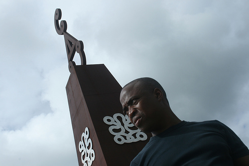 Marcel-Pinas-Moiwana-Monument
